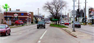 image of Park street in Madison Wisconsin